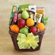 healthy snack gift basket buy healthy requests springtime fruit and snacks gourmet gift
