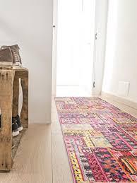 benuta tappeti benuta tappeto moderno passatoia casa multicolor 70x240 cm