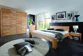 kernbuche schlafzimmer balkenbett 200x200 mit glattem kopfteil kernbuche massiv geölt