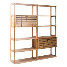 libreria contemporanea libreria in legno 2 cassetti 10 ripiani libreria contemporanea