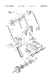 patent us5343678 lawn mower control device google patents