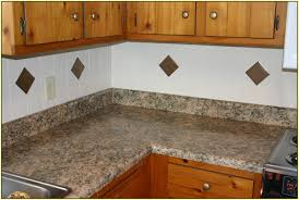 simple kitchen with laminate granite kitchen countertops satin