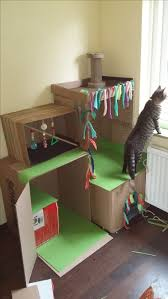 Unique Cat Furniture Best 25 Cardboard Cat House Ideas On Pinterest House Of Cat