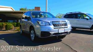 subaru forester old model 2017 subaru forester 2 5 l 4 cylinder review youtube