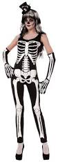 skeleton halloween costumes for adults amazon com forum novelties women u0027s skeleton jumpsuit clothing