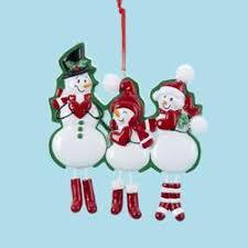 snowman families kurt s adler