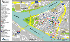 San Jose Convention Center Map by Large Pittsburgh Maps For Free Download And Print High