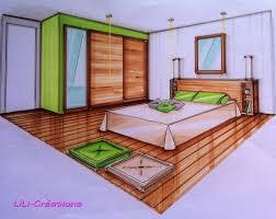 dessiner une chambre en perspective dessin mural chambre adulte 8 chambre en perspective avec