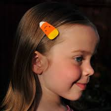 candy corn barrette tutorial giveaway