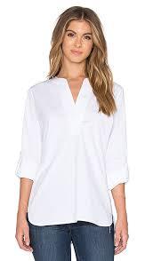 dvf blouse diane furstenberg esti blouse in white revolve