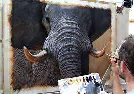 paint an elephant