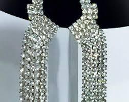 earrings for prom prom earrings etsy