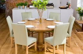 dining surprising round oak dining table with lazy susan