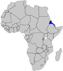 africa map eritrea eritrea