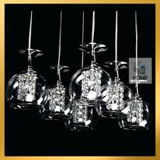 Wine Glass Pendant Light December 2017 Shygirl Me