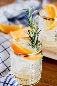 vodka soda bubbly friday orange rosemary vodka soda the daily dose
