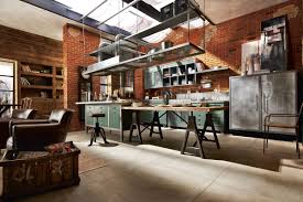 Industrial Style Kitchen Designs Vintage And Industrial Style Kitchens 10 Industrial Living