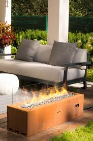 galio corten garden fire pits from planika architonic
