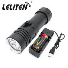 portable underwater fishing lights 9000lm xml l2 mini portable underwater diving led flashlight