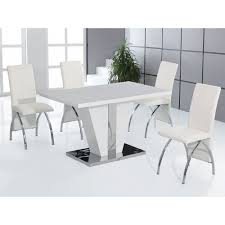 Cheap Dining Tables And Chairs Uk High Gloss Dining Table And Chairs Marceladick