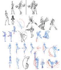 skullgirls u2013 lab zero posts attack concept art for beowulf feng