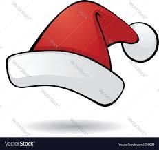 santa hat royalty free vector image vectorstock
