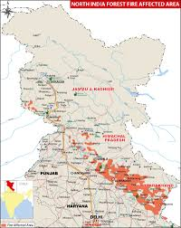 Bhopal India Map by North India Uttarakhand Forest Fires Death Toll Reaches Seven