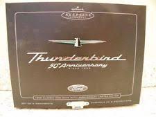 hallmark thunderbird ornament set ebay