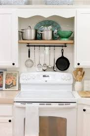What To Do With The Space Above Your Kitchen Cabinets Kitchen Organization Ideas Kitchen Organizing Tips And Tricks