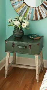 Upcycled Side Table Creative Recycling Ideas Upcycle Art