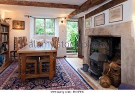 dining table in front of fireplace period dining room stock photos period dining room stock images