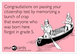 citizenship congratulations card congrautlations on passing your citizenship test by memorizing a