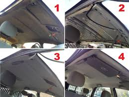 Car Roof Interior Repair How To Fix Roof Interior In A Car Roof Ideas For House