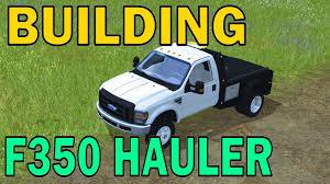 Ford F350 Landscape Truck - farming simulator 17 building ford f350 hauler youtube