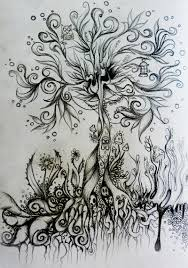 psychedelic tree by realitaetsfern on deviantart