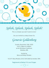 best rubber duck baby shower invitations for unique party horsh