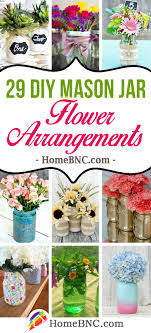 jar flower arrangements 29 best diy jar flower arrangements ideas and designs for 2018