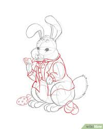 3 ways to draw the easter bunny wikihow