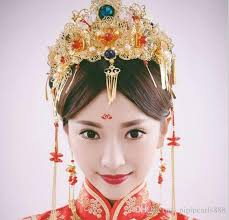 hair ornaments 2017 bridal costume headdress suit wedding hair ornaments
