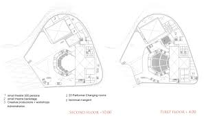 opera house floor plan gallery of busan opera house proposal task architects 6
