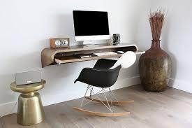bureau suspendu design interieur bureau suspendu tablette clavier chaise eames