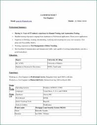 Free Resume Word Format Download Examples Of Resumes Cv Samples Job Resume Format Download In Ms