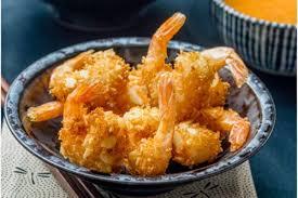 cuisine crevette crevettes croustillantes à la noix de coco aux amandes sauce