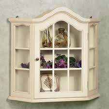 curio cabinet corner wall curio cabinets display case mounted