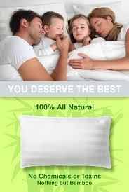 100 bamboo pillow with adjustable thickness xtreme comforts
