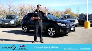 2017 subaru crosstrek green 2017 subaru crosstrek special edition youtube
