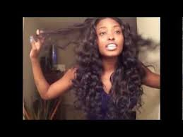 wand curled hairstyles curling my brazilian wavy with my remington curling wand youtube