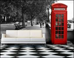 Red Phone Booth Cabinet Decorating Theme Bedrooms Maries Manor New York