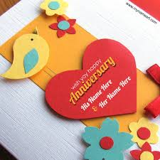 make your own anniversary card yellow duck decoration