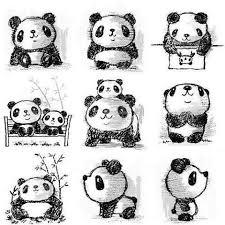 the 25 best panda drawing ideas on pinterest cute panda drawing